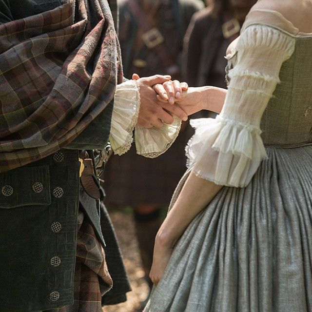 To have and to hold. #Outlander