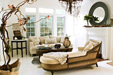 Carcary Residence eclectic living room