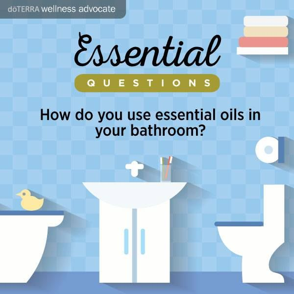How do you use essential oils in the bathroom? http://ift.tt/2miyWPG