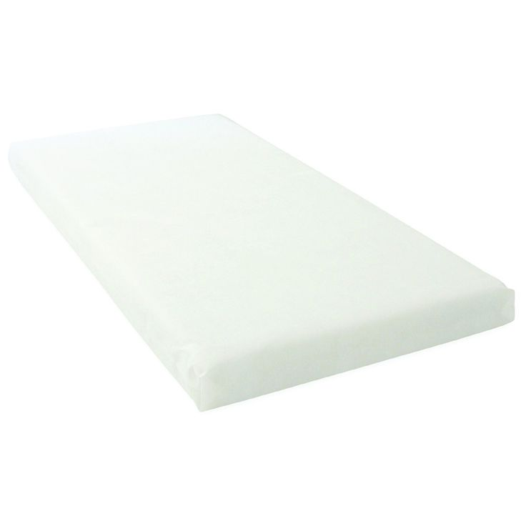 East Coast Foam Cot Bed Mattress with Removable Cover (140 x 70cm)
