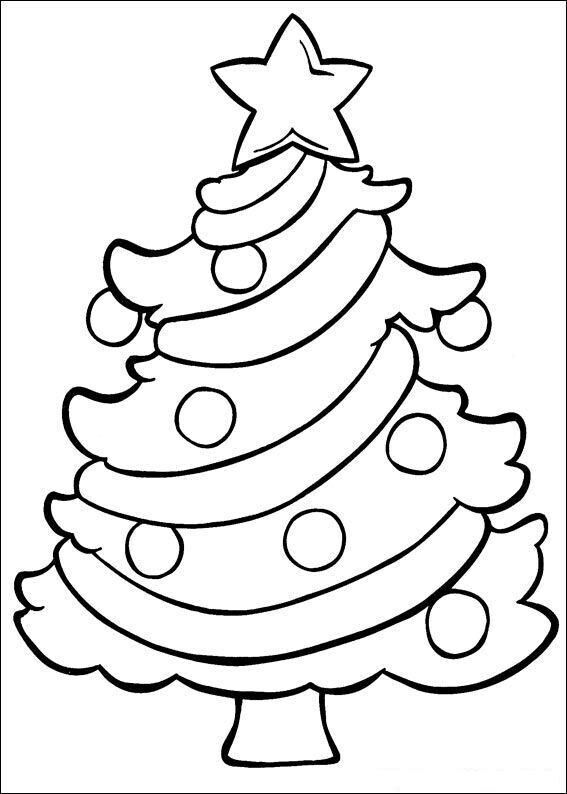 Pin by Jessica Owens on Coloring time | Christmas tree ...
