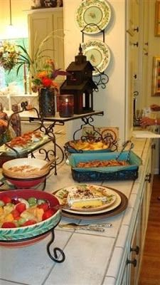 Saturdays With Southern Living at HOME - Beautiful Buffet - southern fried gal