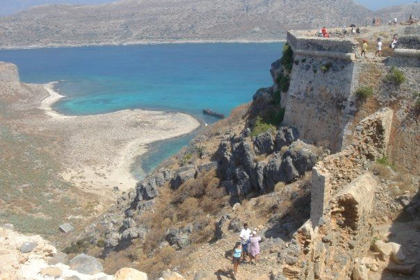 Gramvousa, Crete - Crete, Hania I hiked that with my bestie!!! Beautiful!!