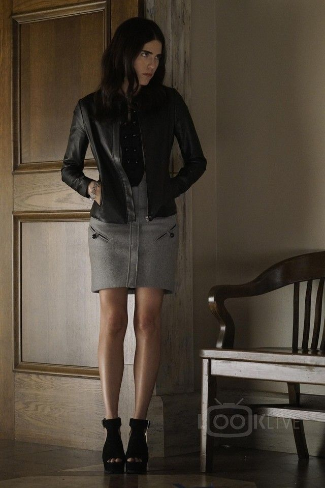 Karla Souza Laurel Castillo How To Get Away With Murder S02E11 She Hates US