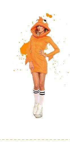 Oranje dames kleding