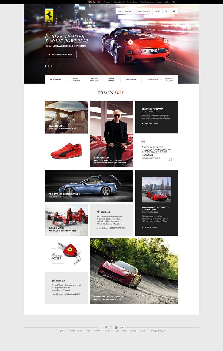 Ferrari GT - Homepage