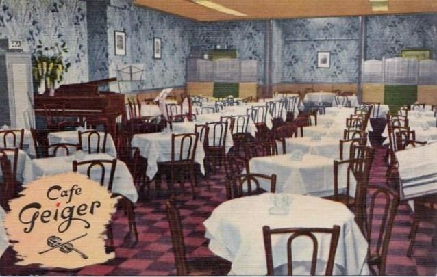 Cafe Geiger Nyc