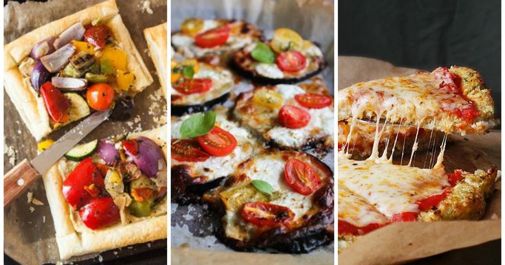 Pizza senza pasta: 8 basi alternative superveloci !