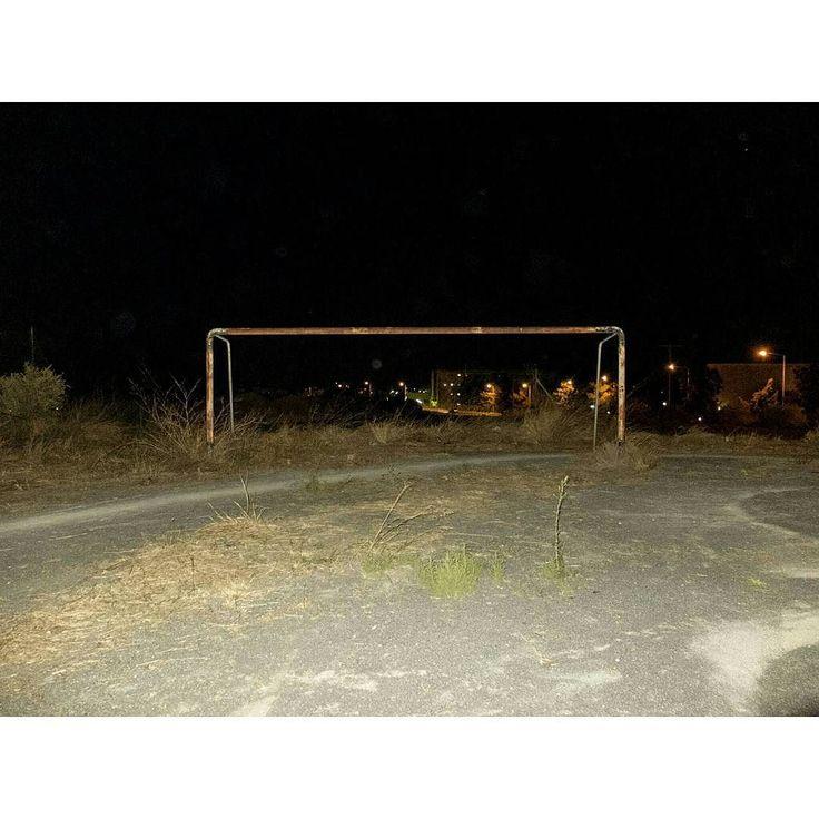 Emptiness #skantzman #manolisskantzakis #photography #colour #fujix100t #field #football #goal