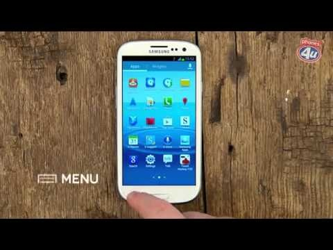 This is how you delete uninstall apps on your Samsung Galaxy S3 (S III)