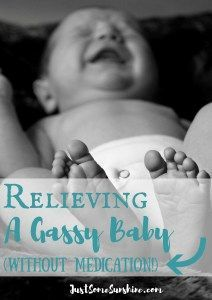 relieving a gassy baby without medication