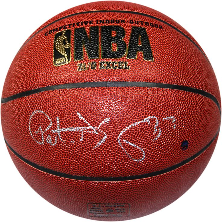 Patrick Ewing Signed Indoor/Outdoor Zi/O Brown Basketball (Signed In  Silver)When Patrick Ewing Played In The NBA He Was Just Not One Of The Best  Centers In ...