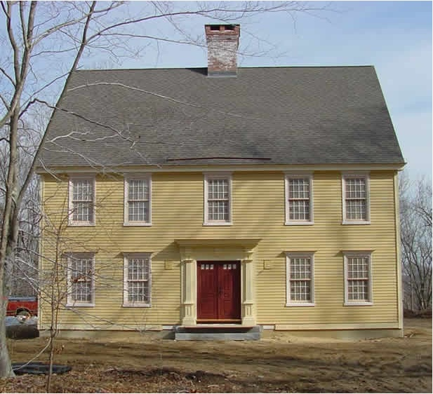 147 Best Images About Saltbox Colonial Homes On