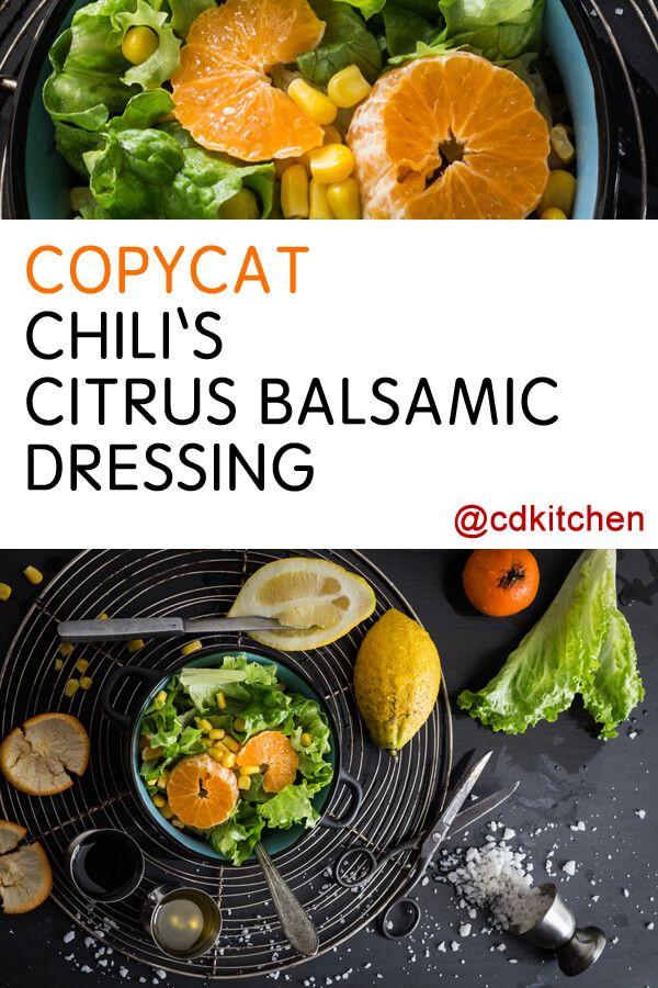 Made with tangerines, lemons, balsamic vinegar | CDKitchen.com