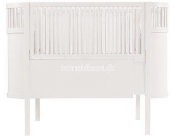 Sebra Kili seng, hvid, 70 x 110/150 cm