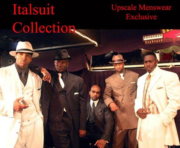 Pleated Pants Suit - Modern Fit Suits for Mens - Italsuit.com