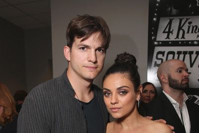 cotibluemos: Mila Kunis y Ashton Kutcher vuelven a ser papás