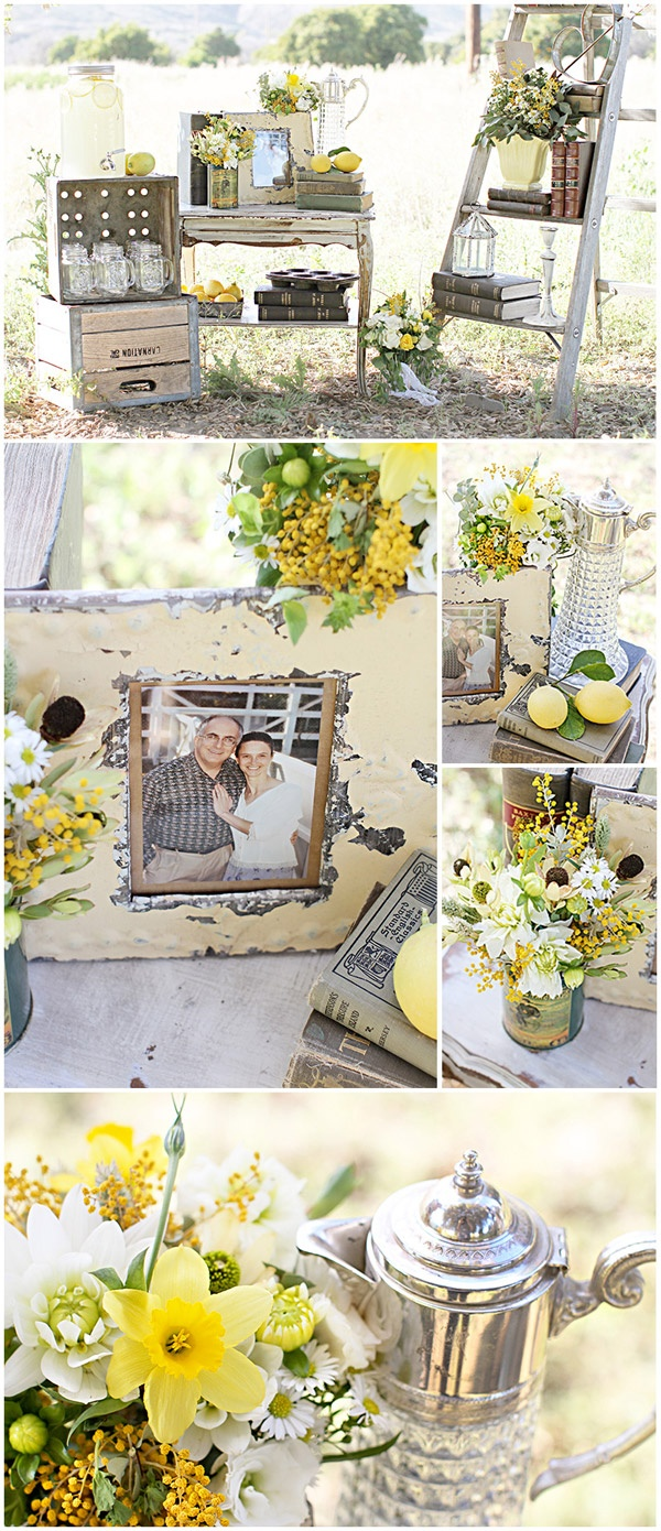 styled-wedding-anniversary-shoot20120815_0042    Gorgeous vintage props, lovely green and yellow colours..