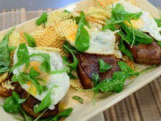 Bife de chorizo con papas fritas y huevo frito | Ariel Rodríguez Palacios
