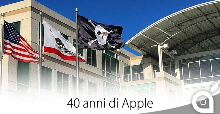 1 Aprile 2016: oggi Apple compie 40 anni e festeggia con le bandiere dei pirati [Video]