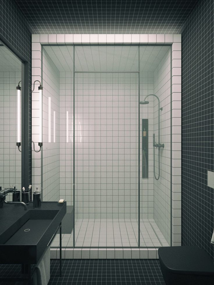 Traditional bathroom features