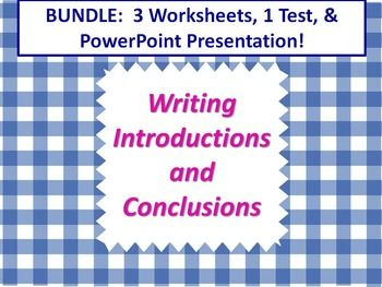 persuasive essay introduction worksheet When writing persuasive articles it is important that you restate your thesis and give strong supporting ideas the conclusion is the last chance you will have to sway your readers this free printable worksheet is perfect for students to practice writing conclusions.