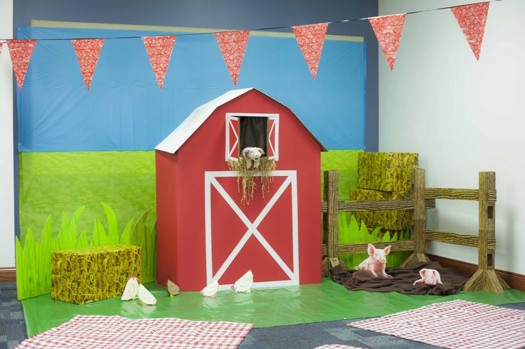 VBSdecorSon Country Harvest cardboard and colored paper VBS - best of cph barnyard roundup