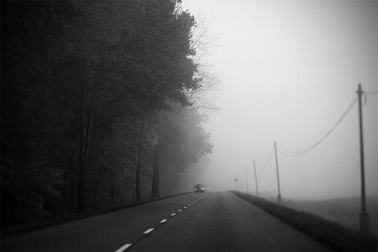 Misty morning  #lensbaby #edge80 #blackandwhite #monochrome