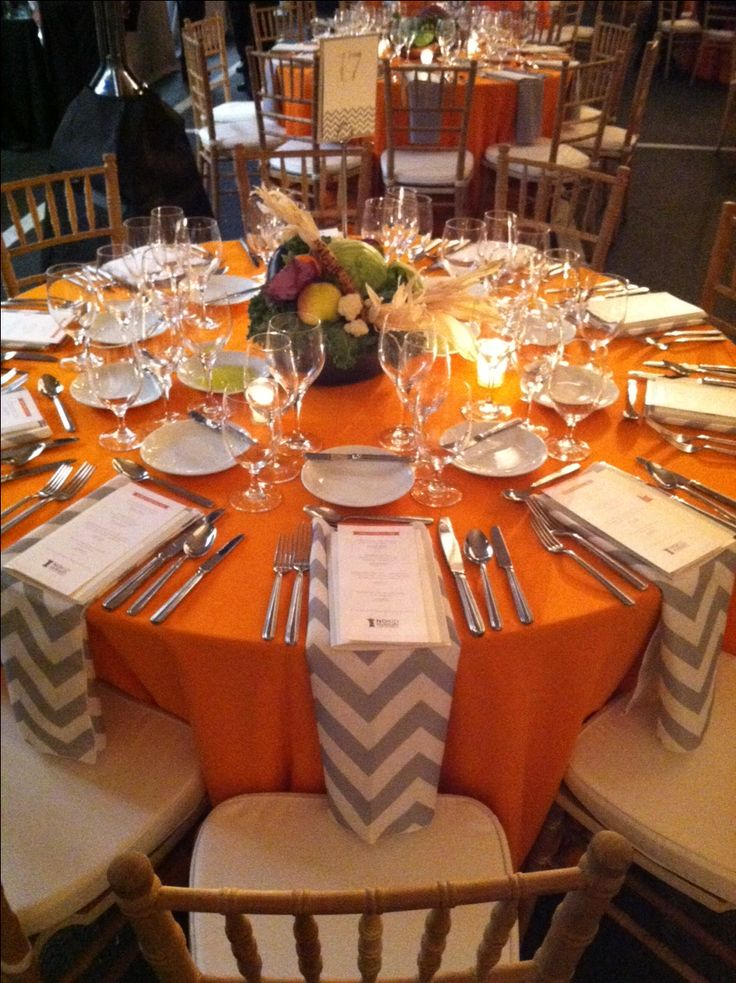 Share Our Strength, No Kid Hungry Gala! We used produce instead of flowers for the centerpieces, which added color and texture to each table!