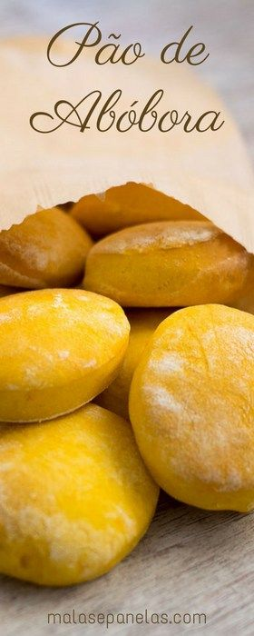 Pão de Abóbora   Malas e Panelas