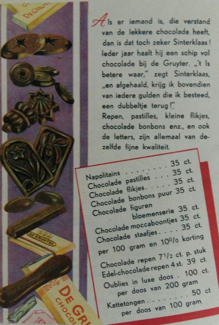 Chocoladeletter, De Gruyter