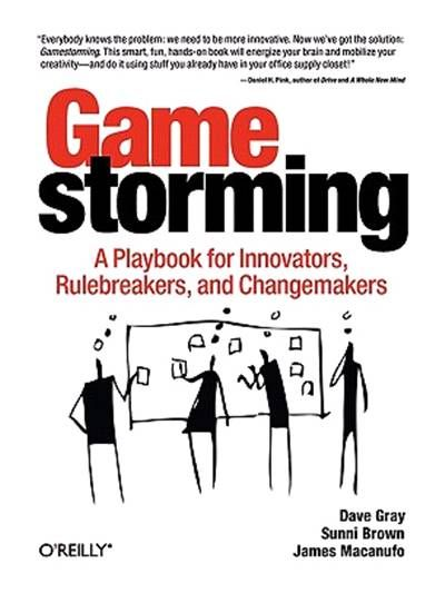 Game Storming by Dave Gray, Sunni Brown and James Macanufo. Get your mind involved!