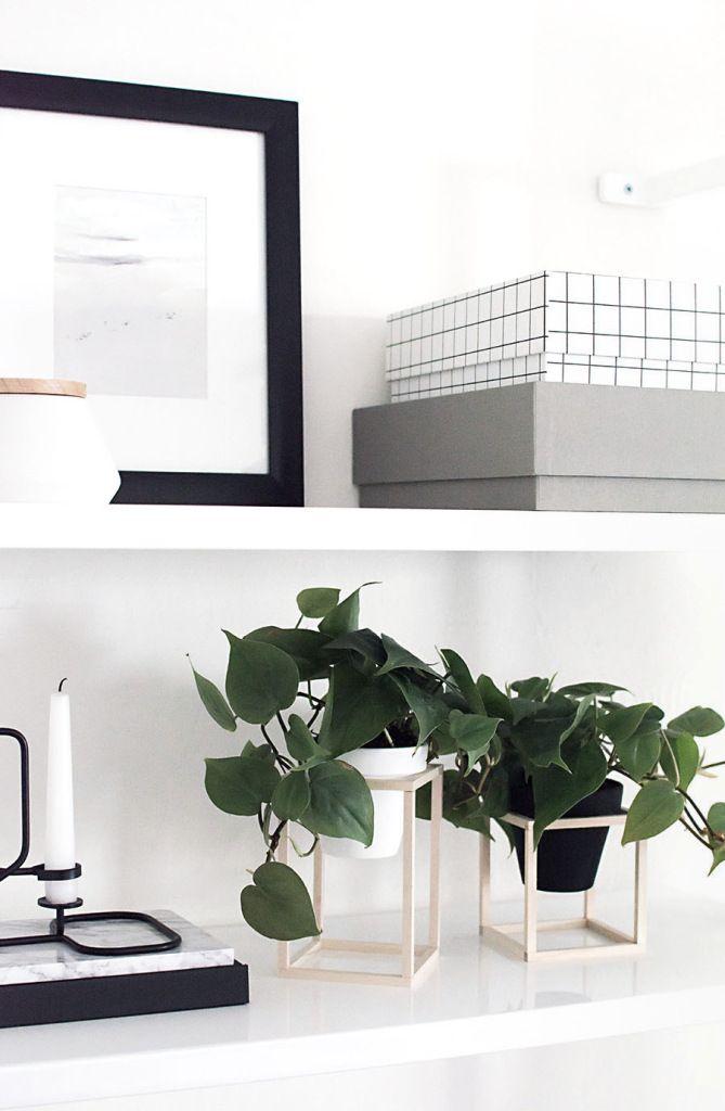 DIY: Mini plant stands