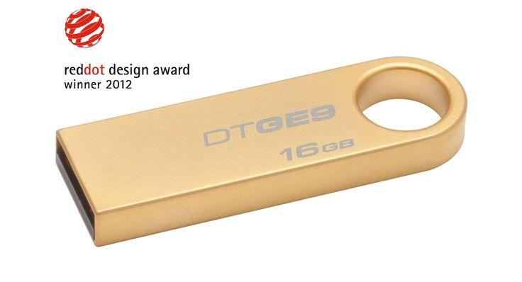 KINGSTON USB Stick Data Traveler DTGE9H/16GB, USB 2.0, Gold
