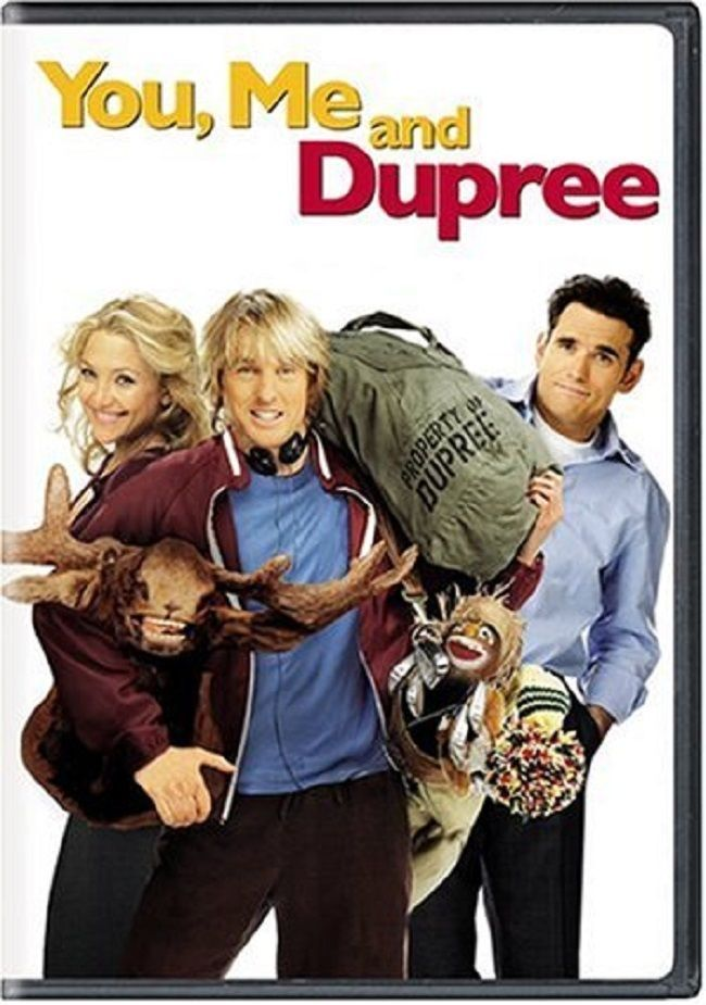 DVD - You, Me and Dupree Starring:  Owen Wilson, Kate Hudson and Matt Dillon