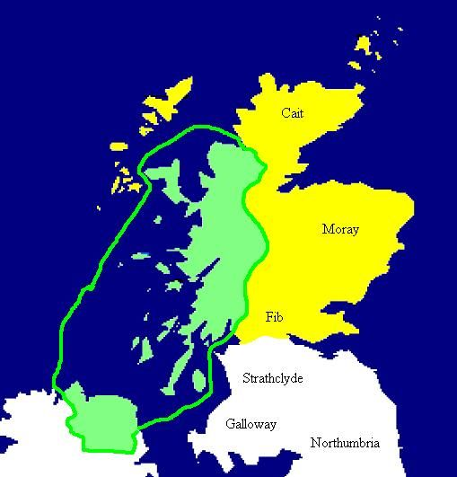 The Kingdom of Dalriada c 500 AD is marked in green. Pictish areas marked yellow. Blood of the Irish: What DNA Tells Us About the Ancestry of People in Ireland  HubPages