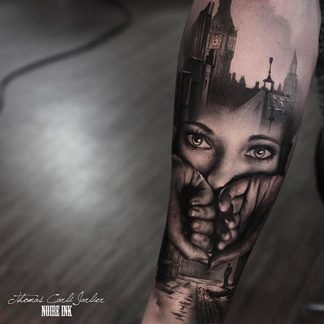 B&G Tattoo Artwork   Artist IG: @thomascarlijarlier