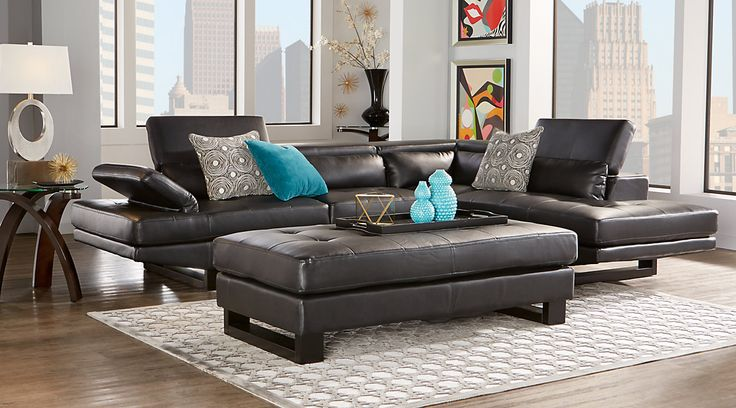 1000 ideas about black living room set on pinterest - Living room sofa sets decoration ...