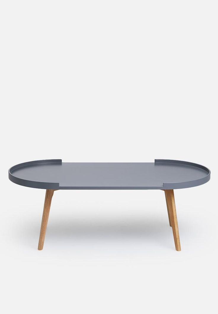 Superbalist - A beautiful centrepiece for a living room, this Scandi coffee table captures the essence of modern minimalism. Designed in an oval shape, it features open sides and will look all the more beautiful when it features some of your favourite decor items.