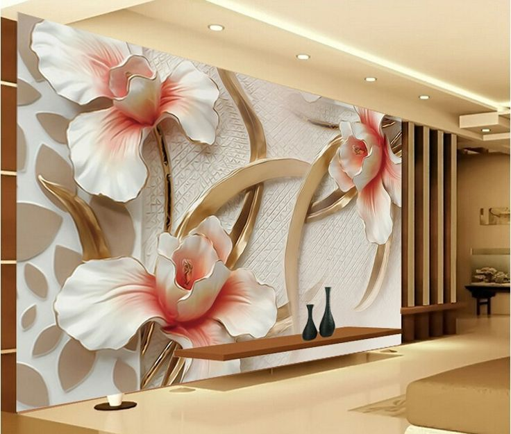 20 best 3d wallpaper and floors images on pinterest for Cheap 3d wallpaper
