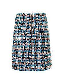 Echo Colour Tweed Skirt