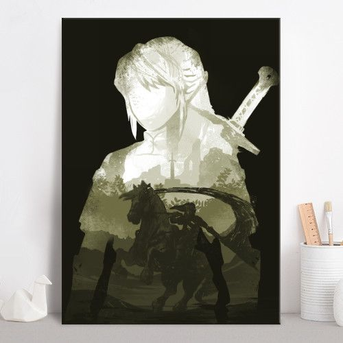 gaming gamer link zelda legend the of cool vintage retro green minimal depth forest swordsman sword swords leaves ink inking Gaming