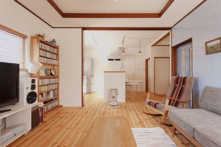 リフォーム・リノベーションの事例|LDK|施工事例No.302古い中古住宅でも2人のアレンジでステキに変身|スタイル工房