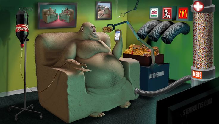 AD-Modern-World-Caricature-Illustrations-Steve-Cutts-03