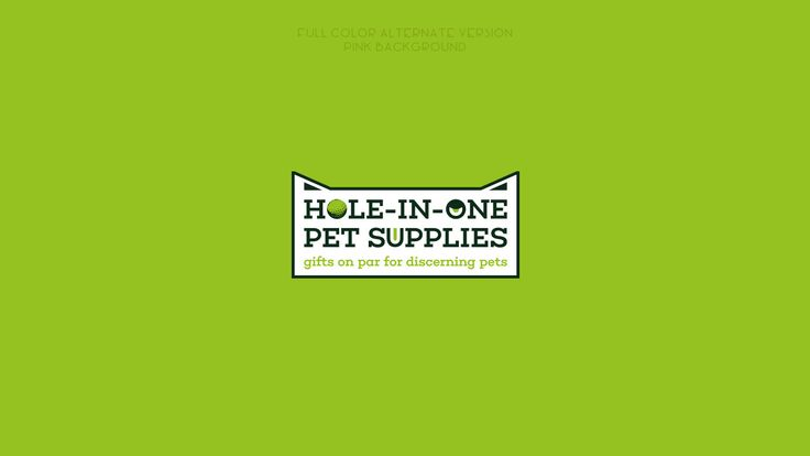 HOLE-IN-ONE PET SUPPLIES on Behance