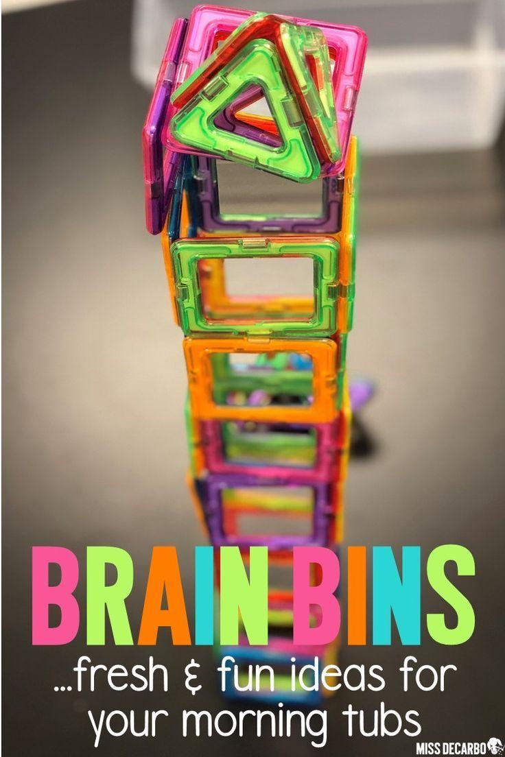 Brain Bins Promote Creativity and Essential Skills | 6th