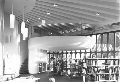 Library Schoten by Renaat Braem
