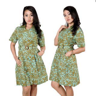 Gaun Batik untuk Santai ~ Koleksi Batik GaleriPos