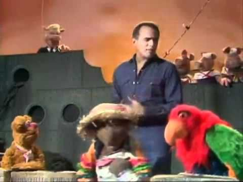 Harry belefonte singing The Banana Boat Song on the Muppet Show.  I love this!  I show it to the kids after I have taught them the song.