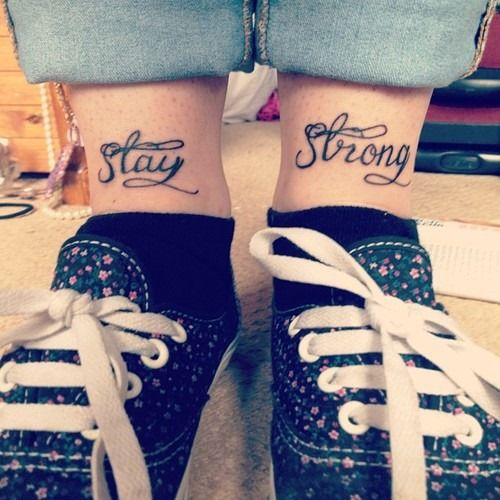 Sad Quotes About Depression: 25+ Best Ideas About Stay Strong Tattoos On Pinterest